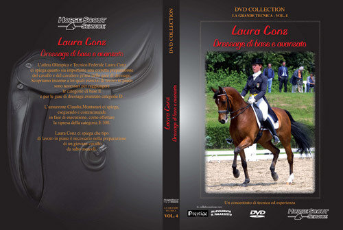 "DVD ""Laura Conz - Dressage di base e avanzato"""